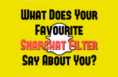 What Does Your Favourite Snapchat Filter Say About You?