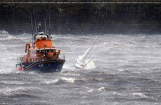 Search for man who fell from boat off Wicklow coast stopped for the night