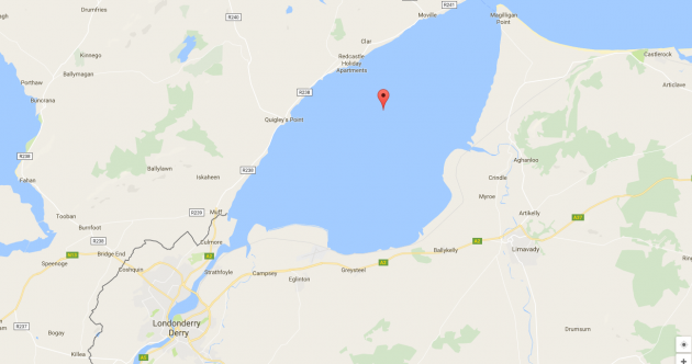 Irish and UK governments reassert their claims over Lough Foyle