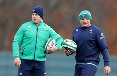 O'Brien starts for Ireland as Schmidt names Henderson and Jackson on bench