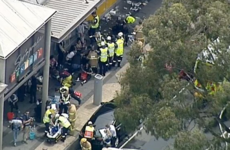 26 people injured after man sets fire to himself inside Melbourne bank