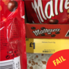 Just as we come to terms with the Toblerone betrayal, Maltesers bags are getting smaller