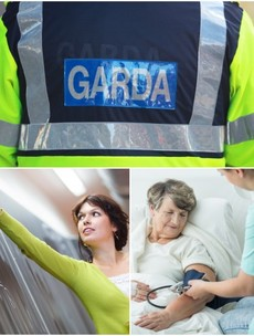 How do wages of gardaí, nurses and teachers measure up to six years ago?