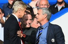 Mourinho: Wenger has more respect than me despite not winning Premier League title for 18 years