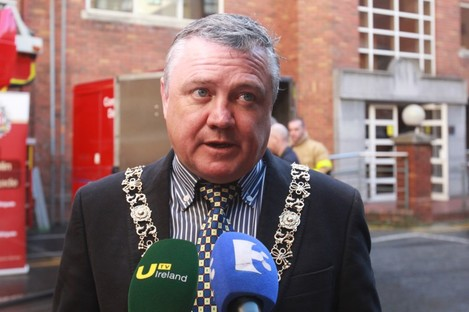 Current Lord Mayor of Dublin, Brendan Carr