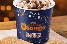 McDonald's is introducing a Terry's Chocolate Orange McFlurry for Christmas