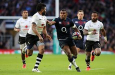 Rokoduguni on the double as England extend winning run with demolition of Fiji