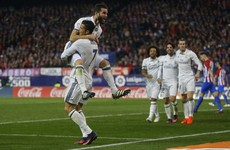 Ronaldo hat-trick downs Atletico Madrid and extends Real's La Liga lead