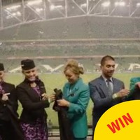 Aer Lingus followed through on their forfeit to Air New Zealand after the rugby