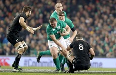 Tadhg Furlong went on the rampage against the All Blacks yesterday