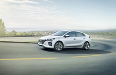 The Ioniq is Hyundai's new electric car