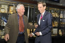 Novelist Lee Child and Ryan Tubridy offer support as Gay Byrne prepares to fight cancer