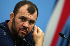 Cheika looking forward to 'biggest game of the tour' on his Dublin return