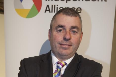 Independent Alliance member Kevin Boxer Moran.