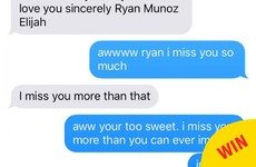 The internet is in love with this little boy's outrageously adorable texts to his big sister
