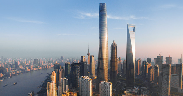 This skyscraper is the architectural design of the year