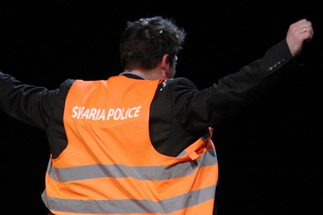 A German poetry show moked the 'Sharia Police' incident. (File photo)