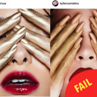 Kylie Jenner is being accused of ripping off this makeup artist's ideas for her lip kits