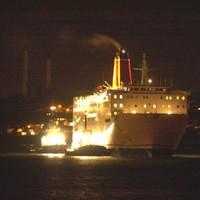 Stena ferry finally docks at Fishguard after being stranded at sea overnight