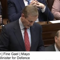 """""""Ministers on their own can't operate solo runs"""": Taoiseach fields questions about Minister Ross"""