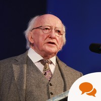 "President Higgins: ""We must share vigilance of not letting anti-Semitism spread again"""