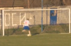 How did he miss that? This howler from Serbia is as bad as it gets
