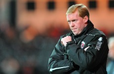 Stan's not the man: Dundalk rubbish link with Staunton