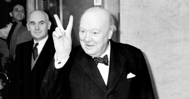 "Winston Churchill spoke of his ""longing"" for a united Ireland"