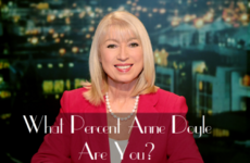What Percent Anne Doyle Are You?