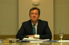 Piers Morgan asked to explain phone hacking comments pictures