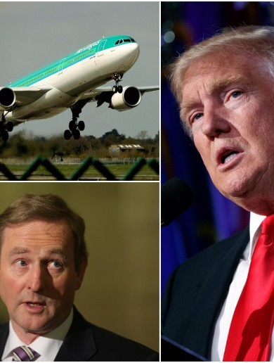Enda says he hopes the J-1 programme won't be scrapped, despite Trump warning