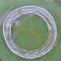 Take a drone tour of this ancient hillfort in Donegal