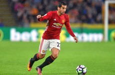 Man United's £30 million man makes his second competitive start tonight