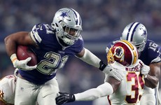 Rookie phenom Ezekiel Elliott helps Dallas Cowboys set franchise record