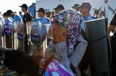 Hundreds arrested after riot in Bulgaria's largest refugee camp