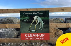 These brilliant tidy town signs have been put up all over Courtown in Wexford