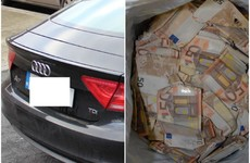 €60k in cash and luxury car seized in gangland crackdown