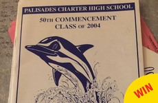 This student managed to sneak a rude word onto the cover of their school yearbook