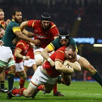 Dan Lydiate injury sours dominant Wales win over South Africa