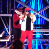 Someone invaded the stage during Honey G's performance on the X Factor last night