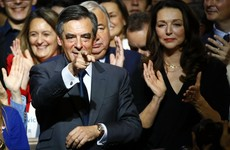 Francois Fillon takes strong lead in French presidential primary