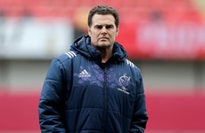 Erasmus warns table toppers Munster: 'Now we are going into big games'