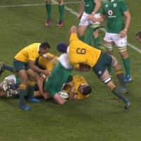 Wallabies flanker Mumm cited for dangerous lifting on Ireland's Furlong