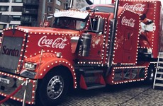 The Coca Cola truck was in Smithfield yesterday and looked absolutely magical