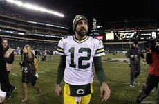 Rodgers stars as Packers snap losing streak against Eagles