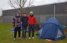 'Don't let us die': Homeless men's fears as makeshift camp on south Dublin green grows