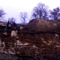 People have donated $100,000 to a website to dig a big hole in the ground