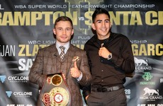 Frampton confident of stoppage win in Santa Cruz rematch