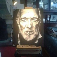 A Dublin artist's painting was left in a taxi and he's looking to get it back