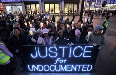 'Undocumented people in Ireland are the same as the Irish undocumented in the US'